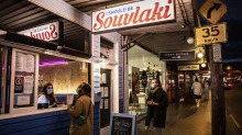New digs: I Should Be Souvlaki has found a home in Newtown.