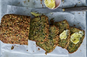 Spring Vegetable Loaf with Parmesan and Zaatar
