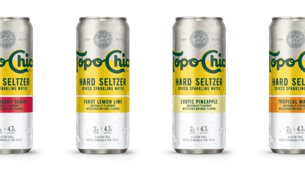 Topo Chico Hard Seltzer was just launched by Coca-Cola Australia.