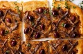 Pantry pizza: Pissaladiere.