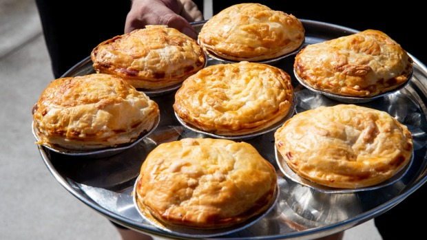 2 Smokin' Arabs beef brisket pies are available for pre-order collection daily.