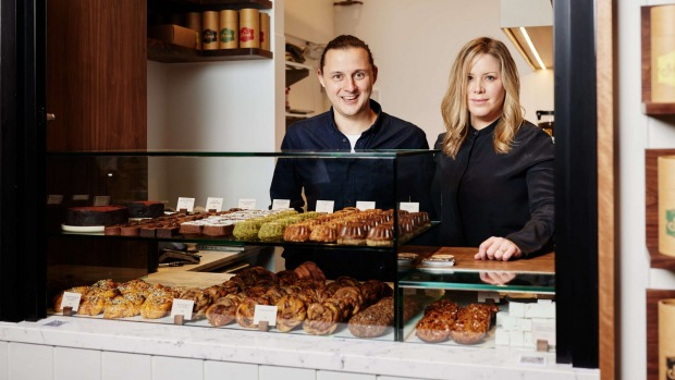 Hot chocolate, cakes and pastries galore from the new Mork Chocolate store.