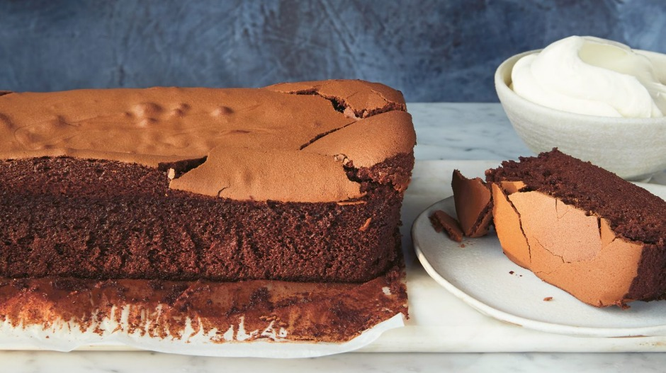 Neil Perry's flourlesschocolate cake is a regular at family birthday celebrations.