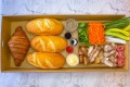 Made to travel: Lit Canteen's smart tailored banh mi box.