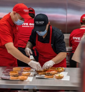 Penrith staff have been trained using Five Guys NASA-like procedure manual.