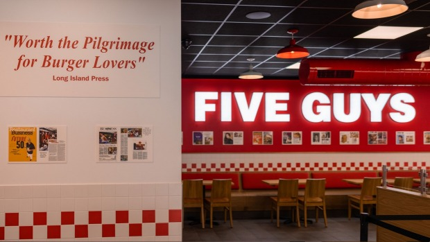 US burger chain Five Guys first Australian store opens in Penrith September 20.