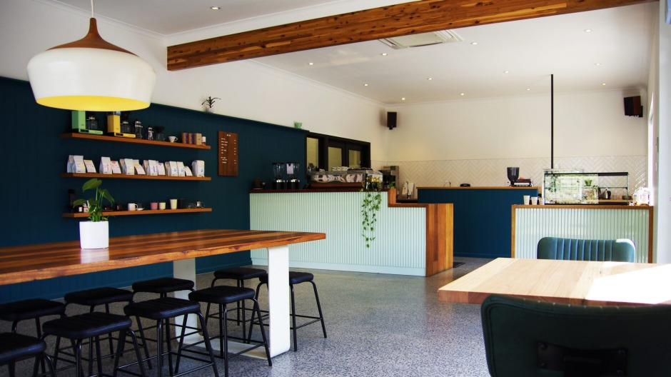 Craftwork Roasting Co's new retail and cafe space.