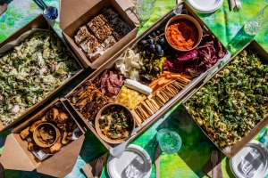 Aplenty's picnic packs change all the time so they include whatever is in its prime.