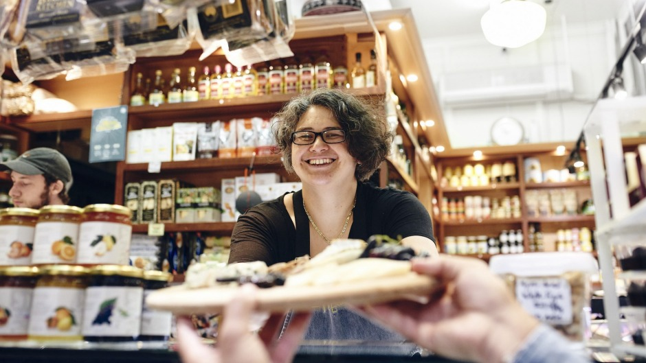 Fiona Macali, owner of The Epicurean cheesemonger and deli at Queen Victoria Market, says you should buy the cheese you ...