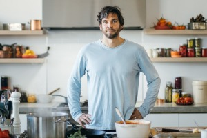 GoodFoodKitchen guest presenter Mark LaBrooy.