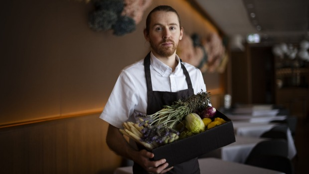 Aria's new executive chef, Thomas Gorringe, is preparing to reopen with a fresh new menu to take the restaurant out of ...
