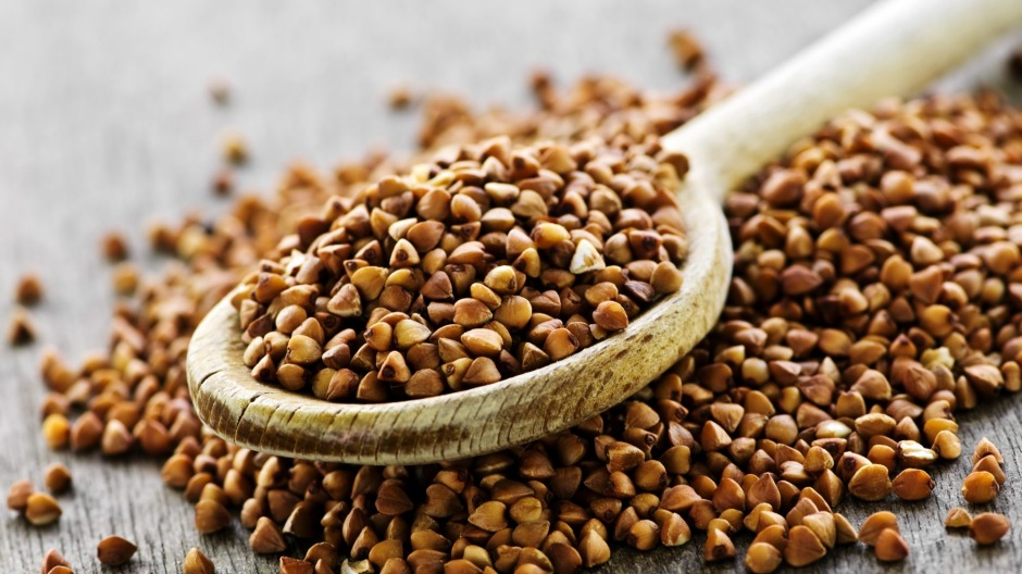 Packed with fibre and naturally gluten free: Buckwheat seeds.