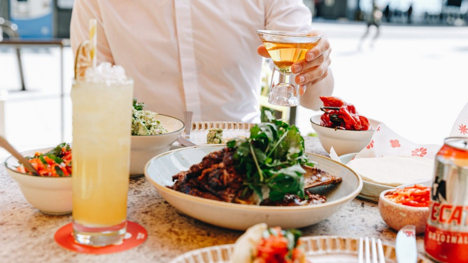Take in the water views and enjoy a taco party at Tequila Daisy in Barangaroo.