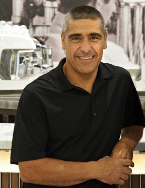 Fabio Angele, owner of Brunetti Classico, which encompasses cafes in Carlton and at Melbourne Airport.