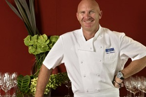 Famous face ... Aria's chef and coowner, Matt Moran.