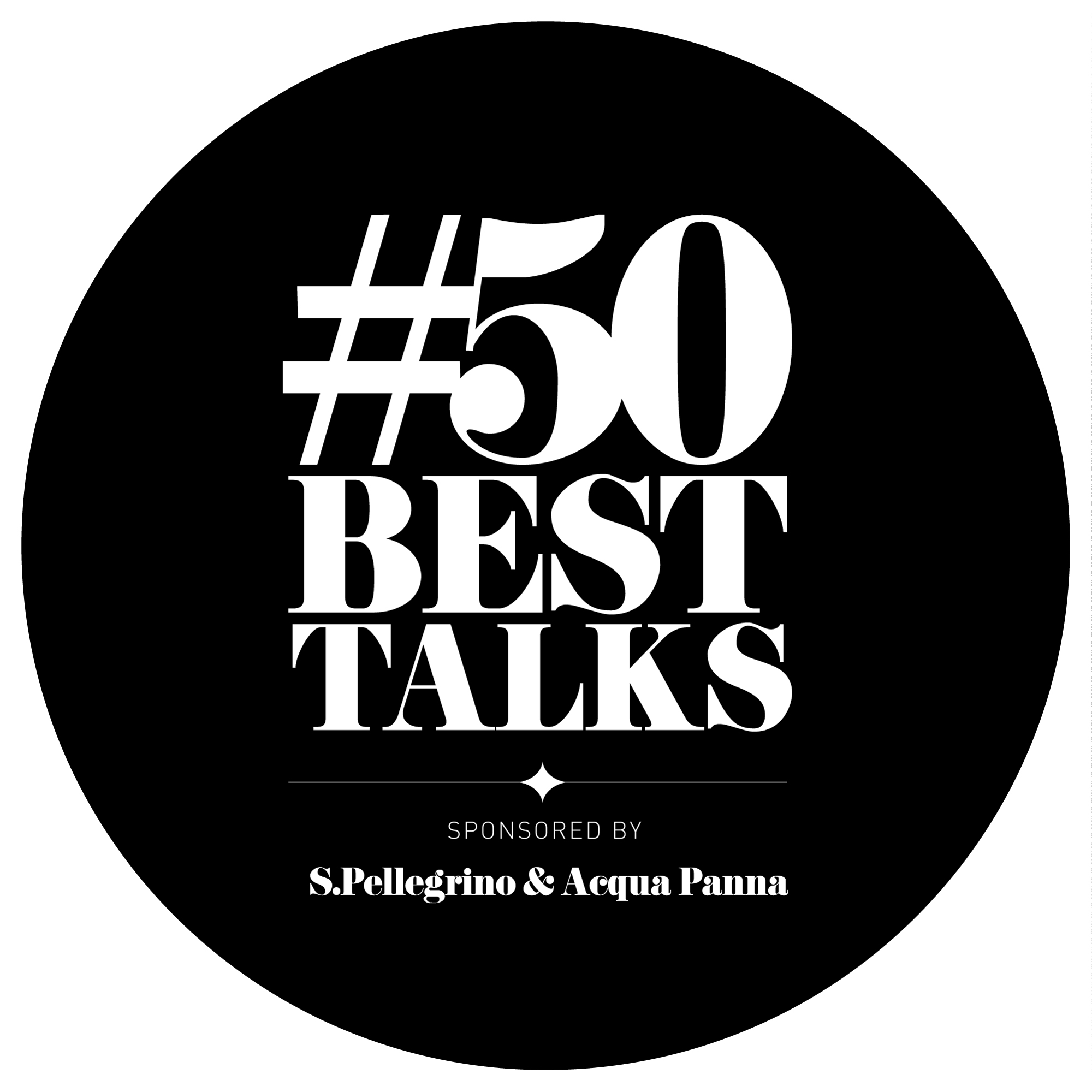 #50BestTalks presented by San Pellegrino
