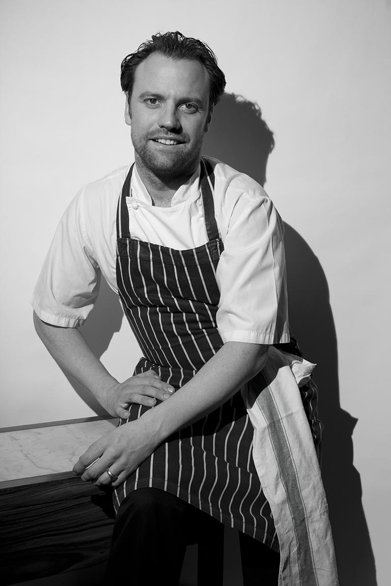 Brett Graham from The Ledbury (World #14 Restaurant)