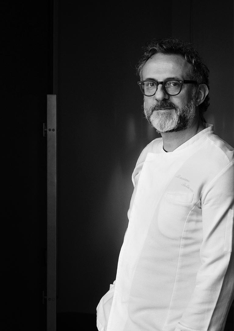 Massimo Bottura (World's Best Chef 2011) from Osteria Francescana (World #1 Restaurant)
